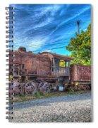Steam Locomotive No 1151 Norfolk And Western Class M2c Spiral Notebook