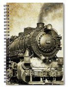 Steam Locomotive No. 334 Spiral Notebook