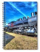 Steam Locomotive No 4 Virginian Class Sa  Spiral Notebook