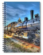 Steam Locomotive No 6 Norfolk And Western Class G-1 Spiral Notebook