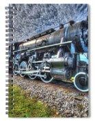 Steam Locomotive No 606 Spiral Notebook