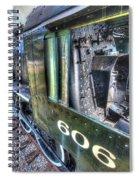 Steam Locomotive Norfolk And Western  No. 606 Spiral Notebook