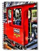 Steam Locomotive Old West V2 Spiral Notebook