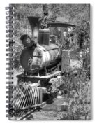 Steam Locomotive Old West V3 Spiral Notebook