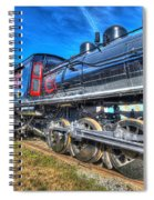 Steam Locomotive Virginian Class Sa No 4 Spiral Notebook
