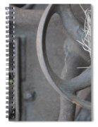 Steam Punk Lawnmower Spiral Notebook
