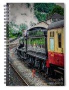 Steam Train 3802 Spiral Notebook