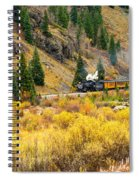 Steam Train 5 Spiral Notebook