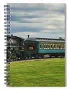 Steam Train Tr3627-13 Spiral Notebook