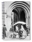 Steam Tricycle, 1888 Spiral Notebook