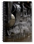 Steam Wheels Spiral Notebook