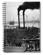 Steamboat, C1900 Spiral Notebook