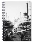 Steamboat Landing, 1906 Spiral Notebook