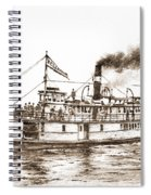 Steamboat Reliance Sepia Spiral Notebook