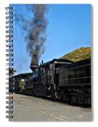 Steaming Away Spiral Notebook