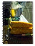 Steaming Corn Spiral Notebook
