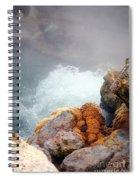 Steaming Hot Spring Spiral Notebook