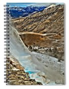 Steaming Steps Spiral Notebook