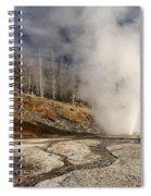 Steaming Streams Spiral Notebook
