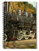 Steaming Through The Fall Spiral Notebook