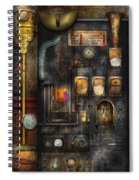 Steampunk - All That For A Cup Of Coffee Spiral Notebook