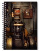 Steampunk - Back In The Engine Room Spiral Notebook