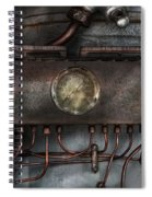 Steampunk - Connections   Spiral Notebook