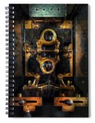 Steampunk - Electrical - The Power Meter Spiral Notebook