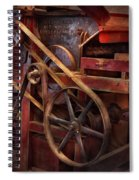 Steampunk - Gear - Belts And Wheels  Spiral Notebook