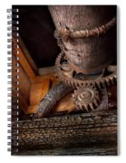 Steampunk - Gear - Out Of Order  Spiral Notebook
