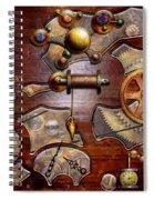 Steampunk - Gears - Reverse Engineering Spiral Notebook