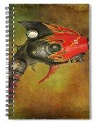 Steampunk - Gun - Electric Raygun Spiral Notebook