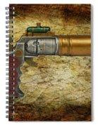Steampunk - Gun - The Ladies Gun Spiral Notebook