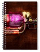 Steampunk - Gun -the Neuralizer Spiral Notebook