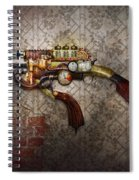 Steampunk - Gun - The Sidearm Spiral Notebook