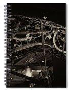 Steampunk Horse 2 Spiral Notebook