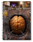 Steampunk - Information Overload Spiral Notebook