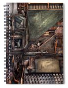 Steampunk - Machine - All The Bells And Whistles  Spiral Notebook