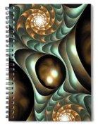 Steampunk Mood Spiral Notebook