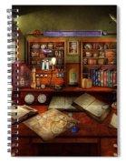 Steampunk - My Busy Study Spiral Notebook