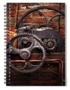 Steampunk - No 10 Spiral Notebook