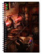 Steampunk - Photonic Experimentation Spiral Notebook