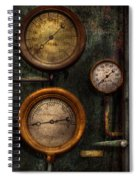 Steampunk - Plumbing - Gauging Success Spiral Notebook