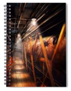 Steampunk - Plumbing - The Hallway Spiral Notebook