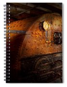Steampunk - Plumbing - The Home Of A Stoker  Spiral Notebook