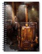 Steampunk - Powering The Modern Home Spiral Notebook