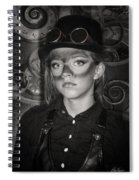 Steampunk Princess Spiral Notebook