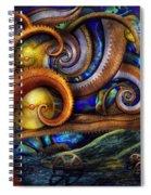 Steampunk - Starry Night Spiral Notebook