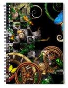 Steampunk - Surreal - Mind Games Spiral Notebook