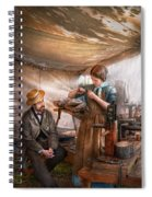 Steampunk - The Apprentice Spiral Notebook